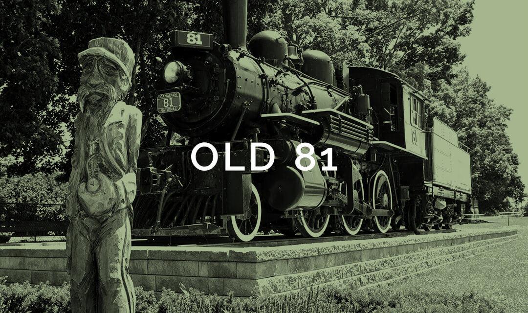 palmerston railway old 81 steam engine