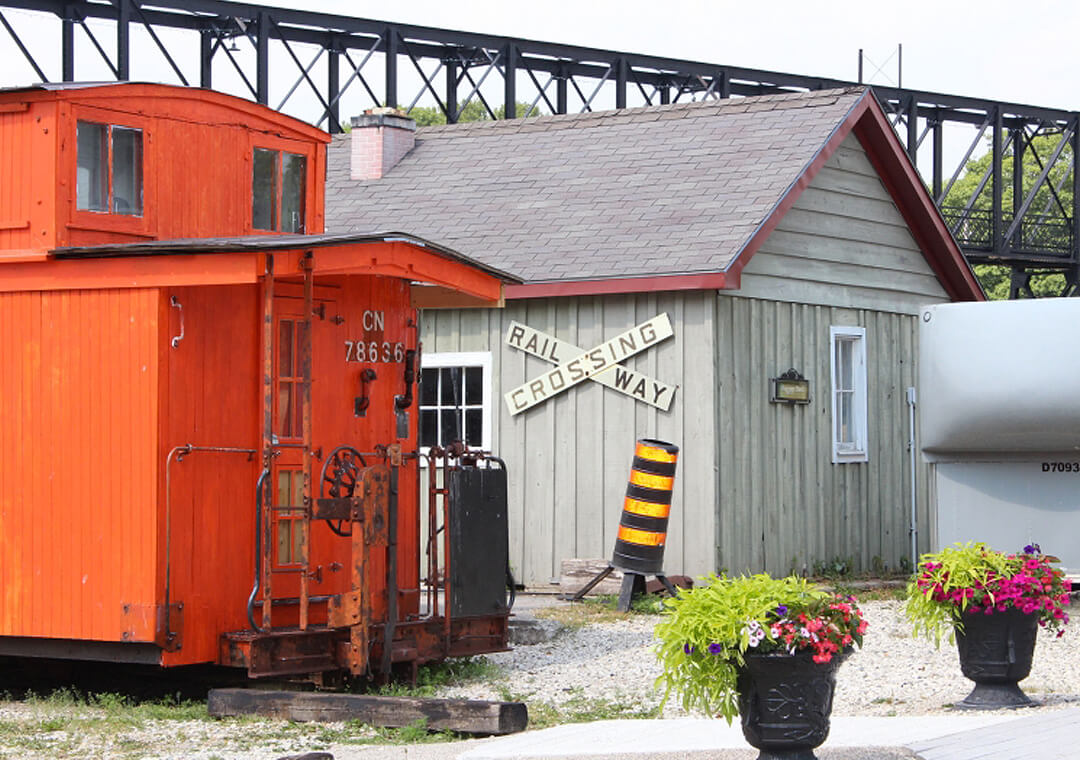 palmerston railway museum exterior