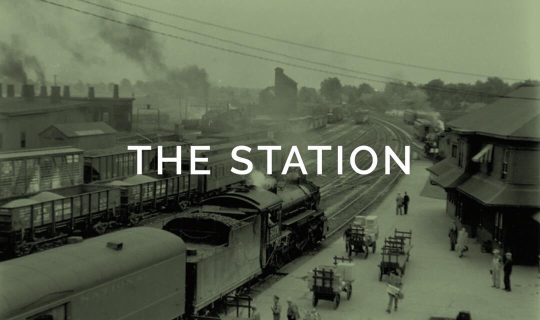 palmerston railway station