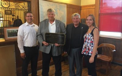 Well-Deserved Recognition for Palmerston Station Champion Bob McEachern