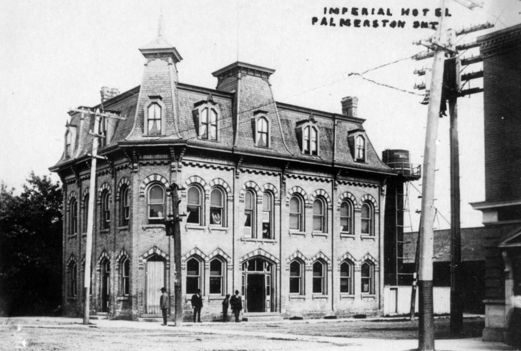 palmerston ontario imperial hotel