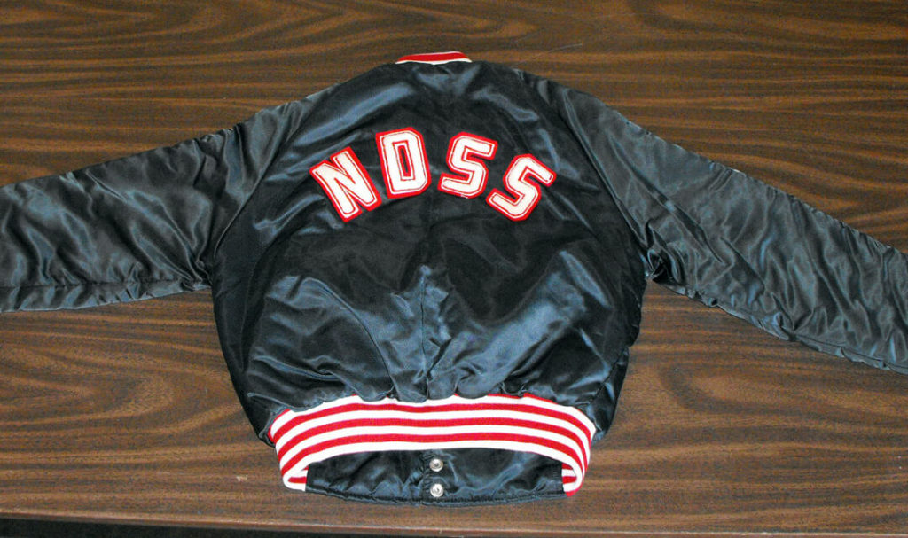 norwell district secondary school letterman jacket